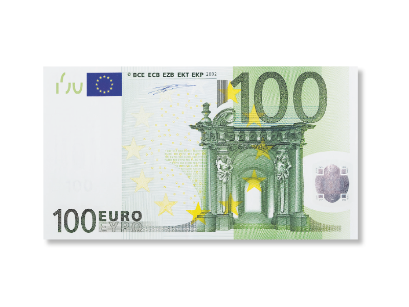 100 Euro Bargeld-Prämie