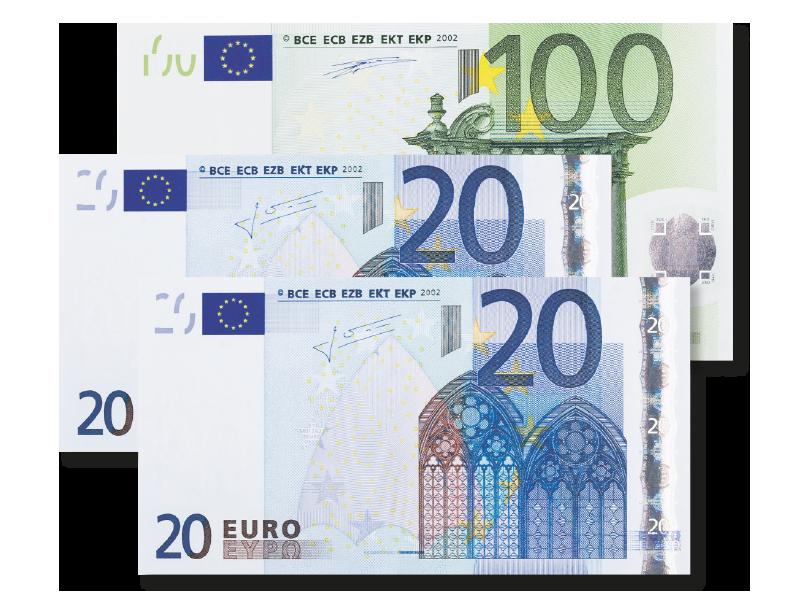 140 Euro Bargeld-Prämie