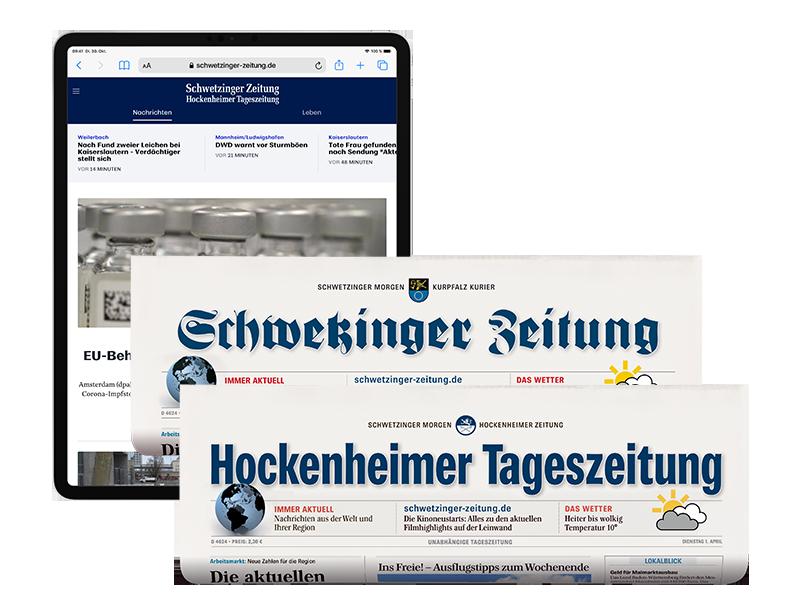 Kombi-Abo Schwetzinger Zeitung / Hockenheimer Tageszeitung