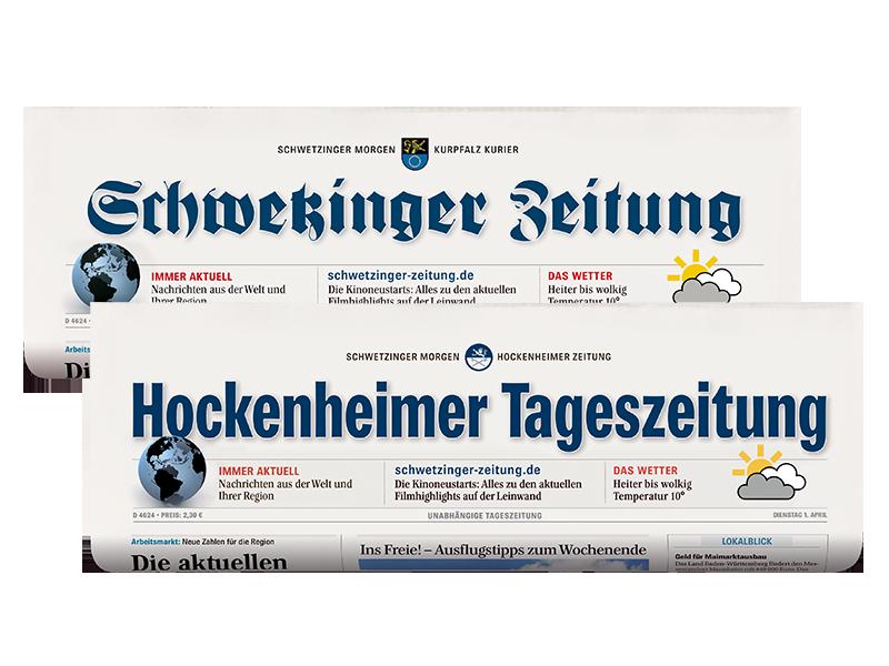 Print-Abo Schwetzinger Zeitung / Hockenheimer Tageszeitung